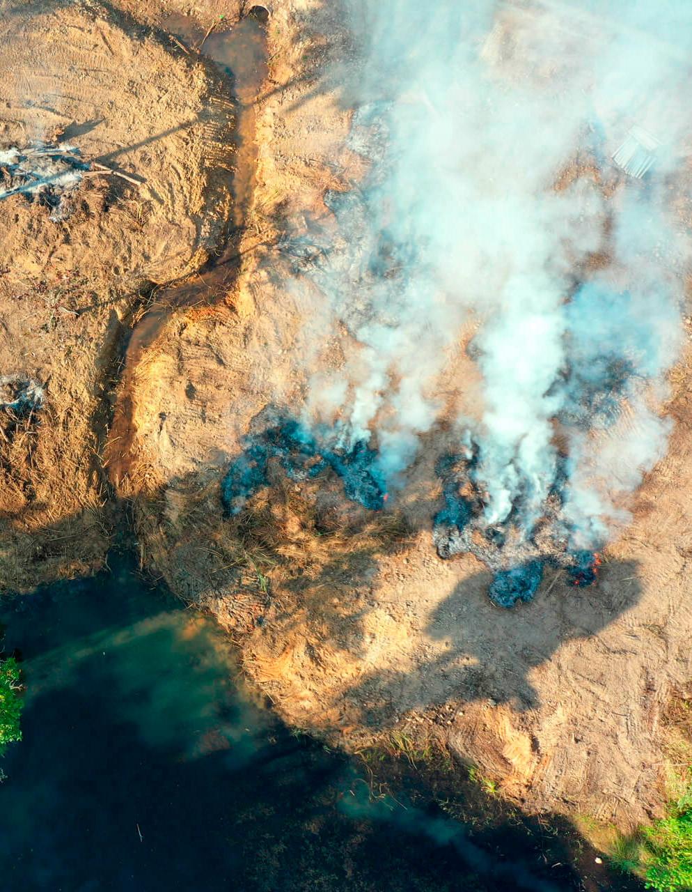 Histórico de queimadas na Amazônia